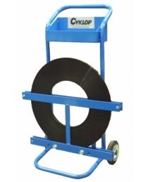 Cyklop QPF egy soros (ribbon) acél szalag tároló kocsi