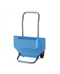Kék egy soros (ribbon) acél szalag tároló kocsi
